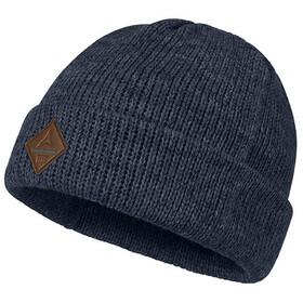 Schöffel Sun Peaks1 Bonnet en maille tricotée Homme, blue indigo